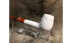 Block Meerschaum Long Shank Billiard Pipe