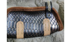 Handmade Leather Pipe Bag 06
