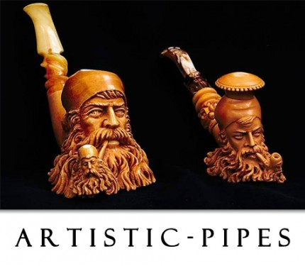 Figural Shape Pipes